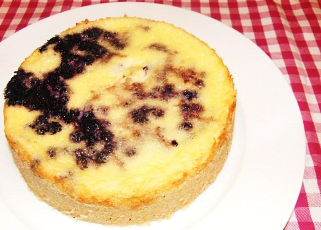 Blaubeer-Vanille-Tarte