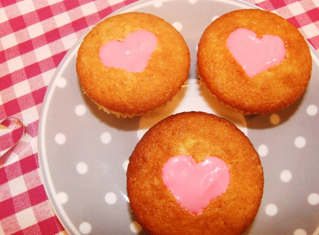 Herzige Cupcakes