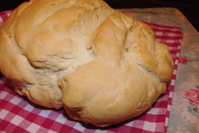 Brot mit Hefe