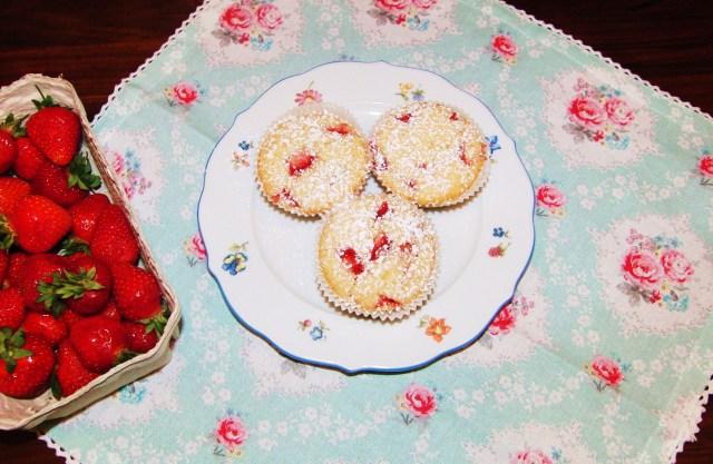 Erdbeer Muffins