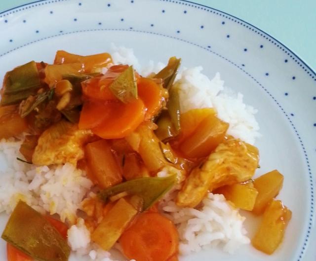 Chinesische Sauce Süß Sauer