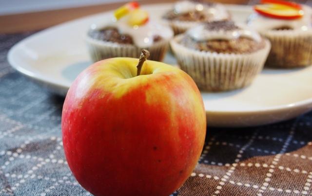Apfel-Mohn-Muffins