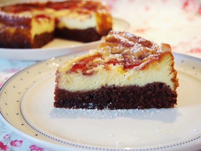 Cheesecake-Brownies