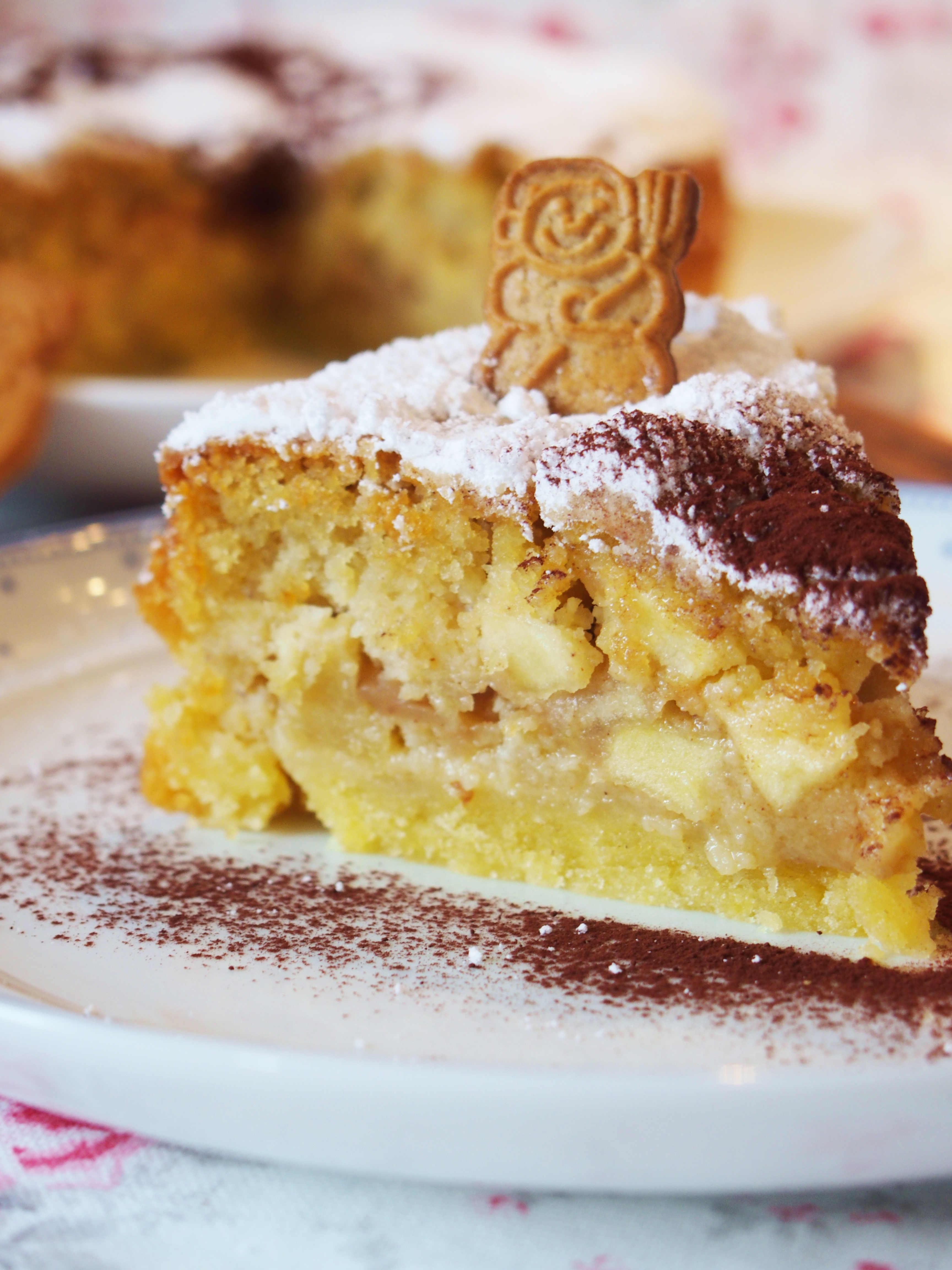 Apfelkuchen Mit Spekulatius Und Zimt Fraulein Ella