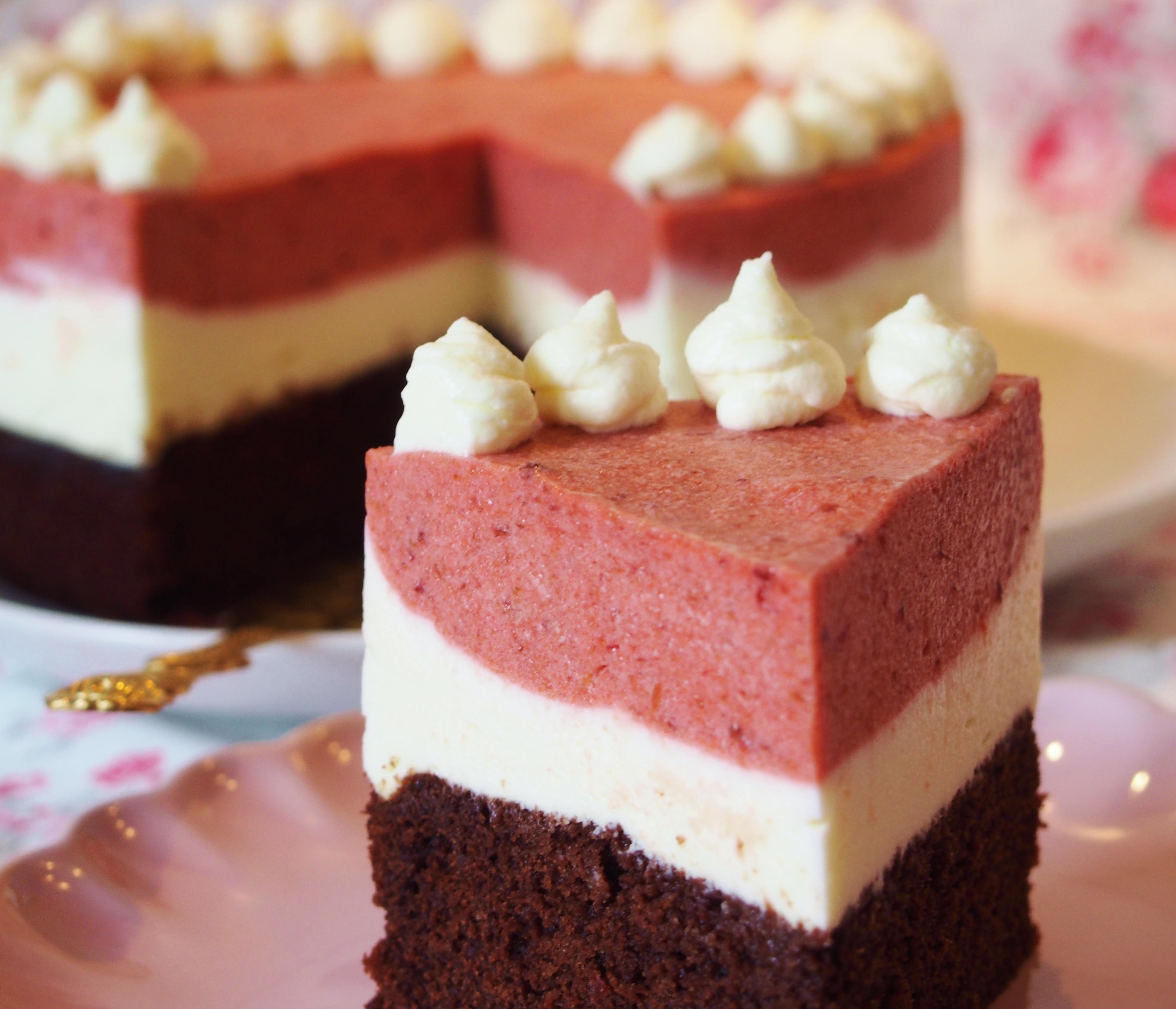 Schokolade Frulein Ella Seite 6 Red Velvet Nougat Cake 15cm Schoko Vanilletorte