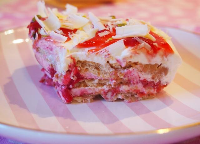 Himbeer-Lasagne