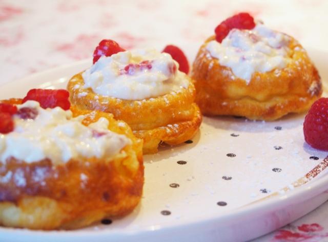 Pfannkuchen-Törtchen