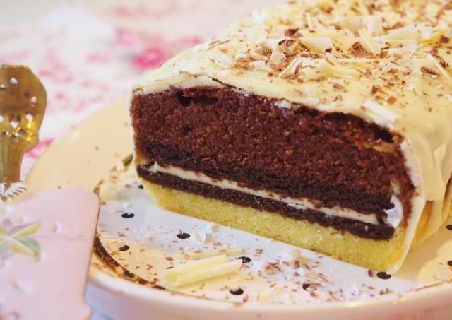 Black & White Cookie-Cake