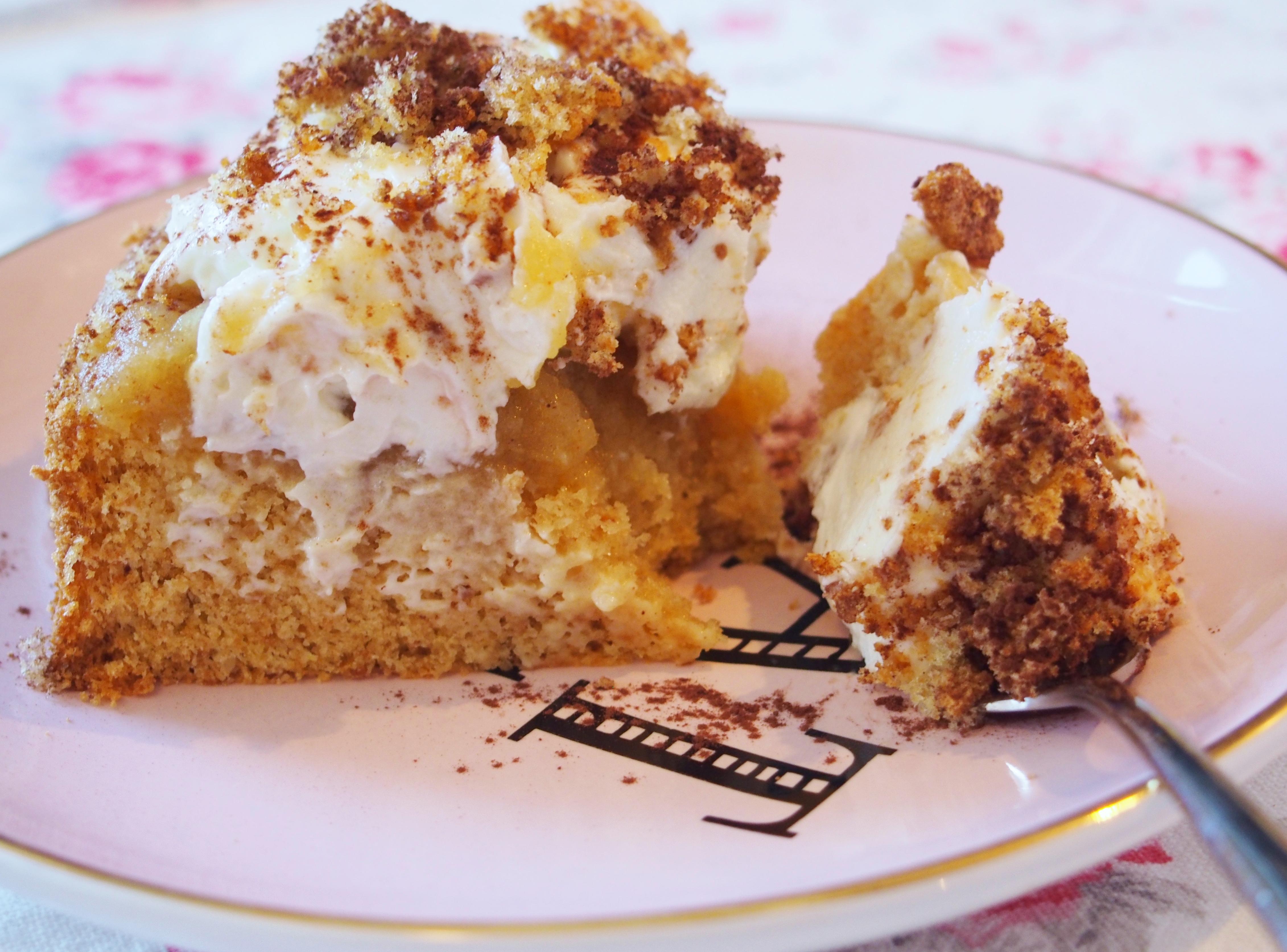 Apfel Tiramisu Torte Fraulein Ella