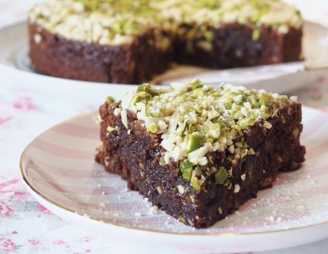 Mandel-Pistazien-Brownies