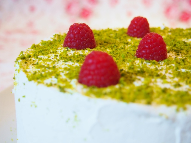 Honig-Pistazien-Torte