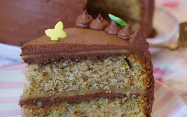 Nougat-Marzipan-Torte