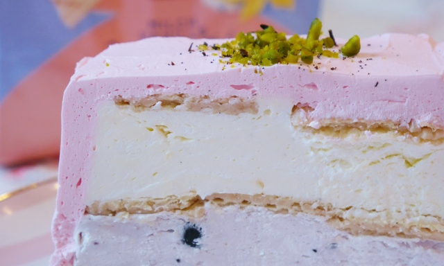 Heidelbeer-Vanille-Torte
