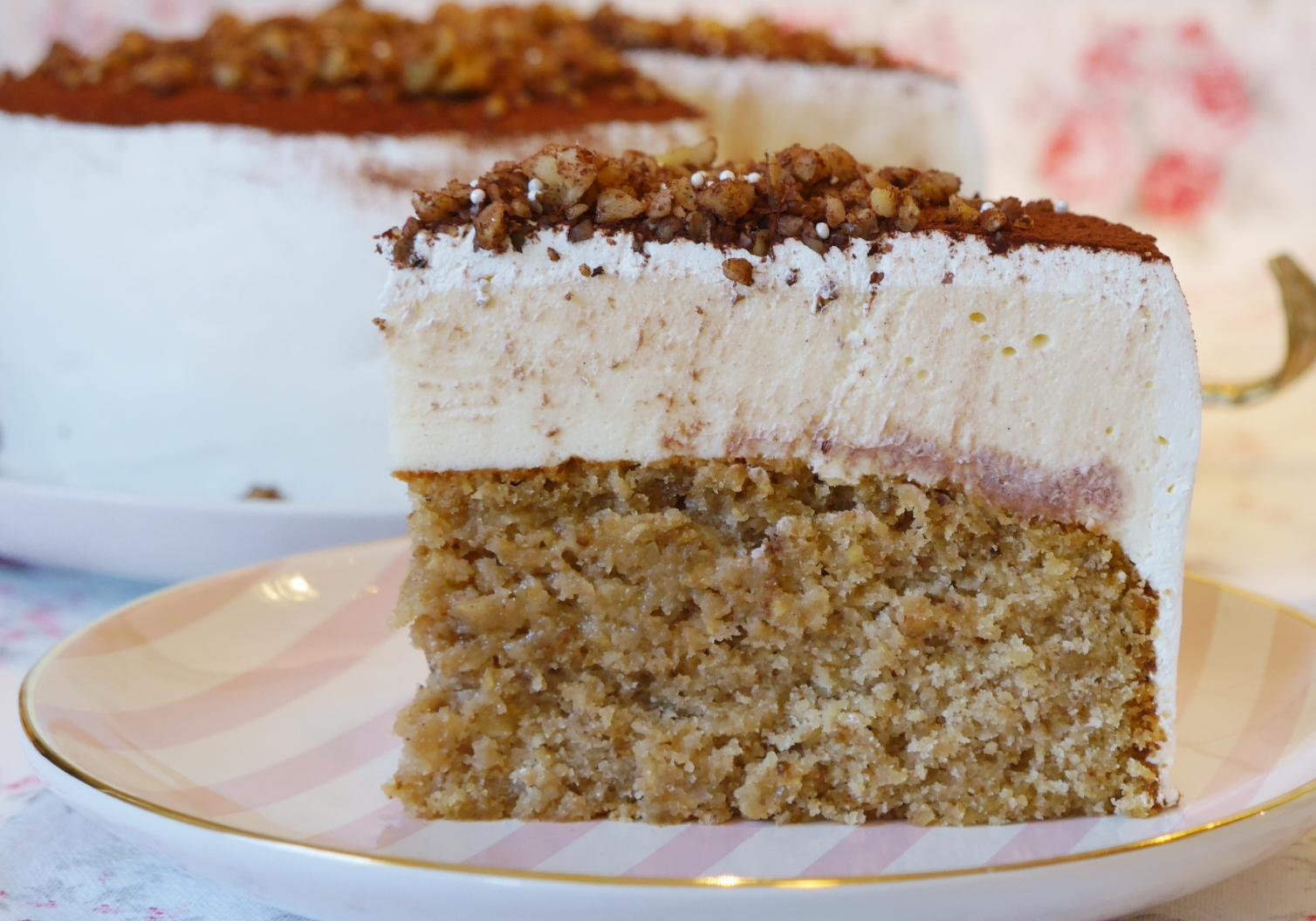 Die Vielleicht Weltbeste Walnuss Karamell Torte Fraulein Ella