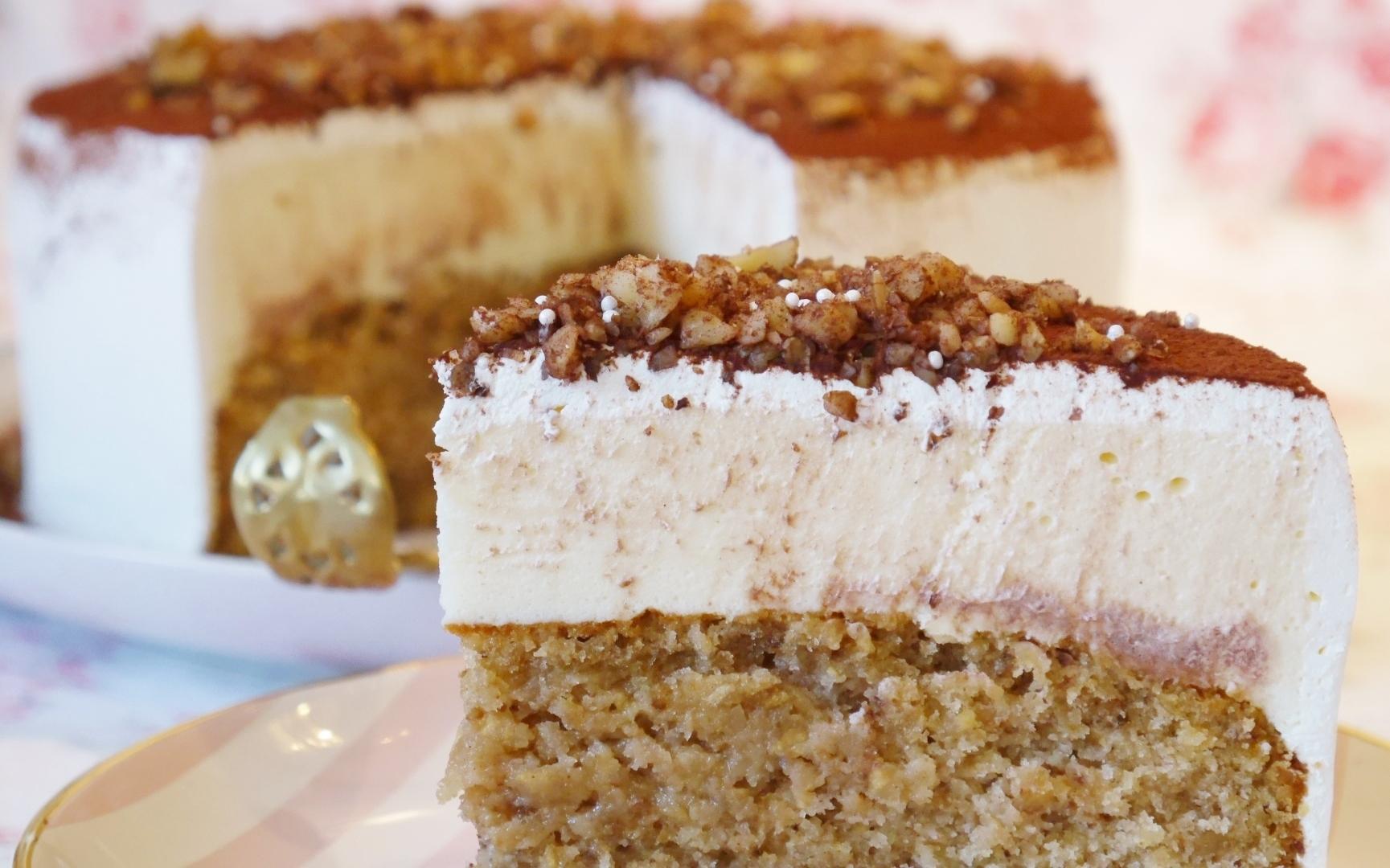 Karamell walnuss torte