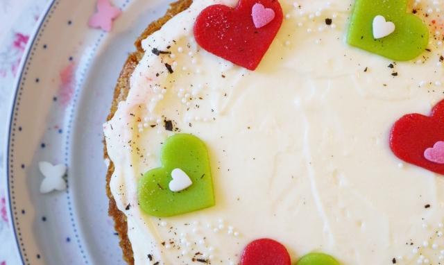 Vanille-Frischkäse-Torte