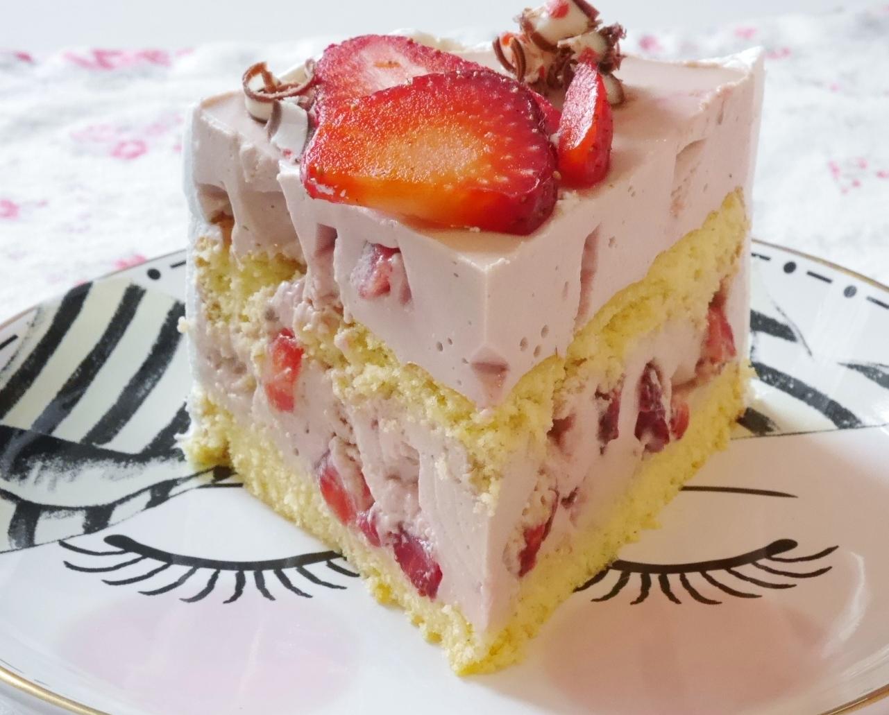 Erdbeer Schoko Torte Fraulein Ella