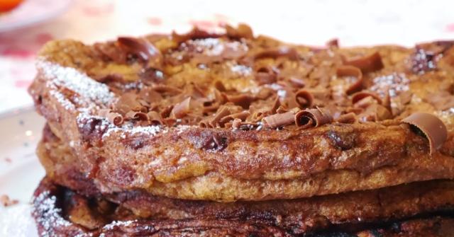 Schokoladen-Omelette