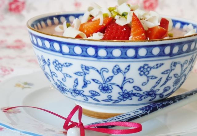 Erdbeer-Panna-Cotta