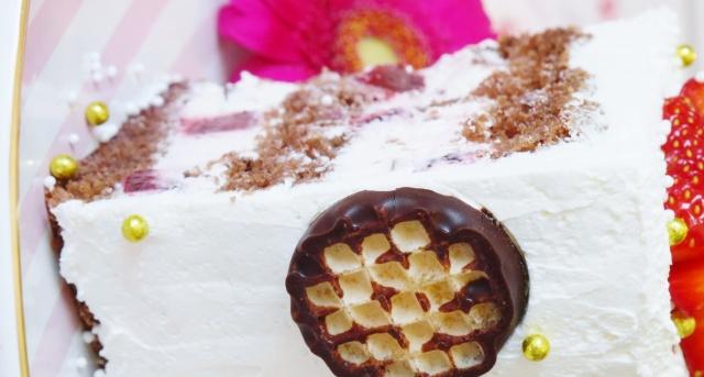 Schokokuss-Erdbeer-Torte