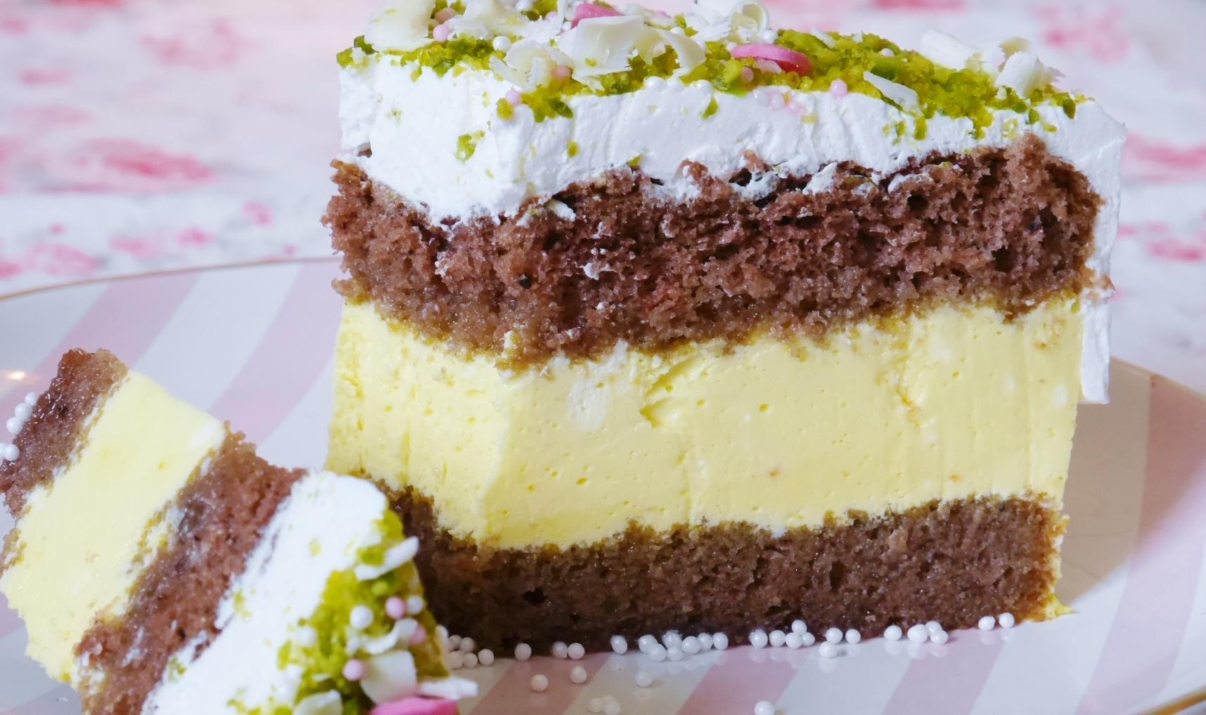 Safran Macht Den Kuchen Gehl Safran Pistazien Torte Fraulein Ella