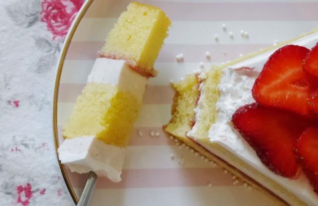 Erdbeer-Vanilletorte