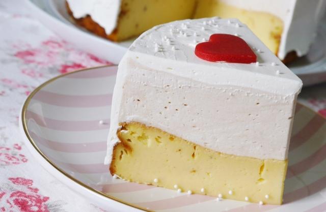 Vanille-Käsekuchen-Torte