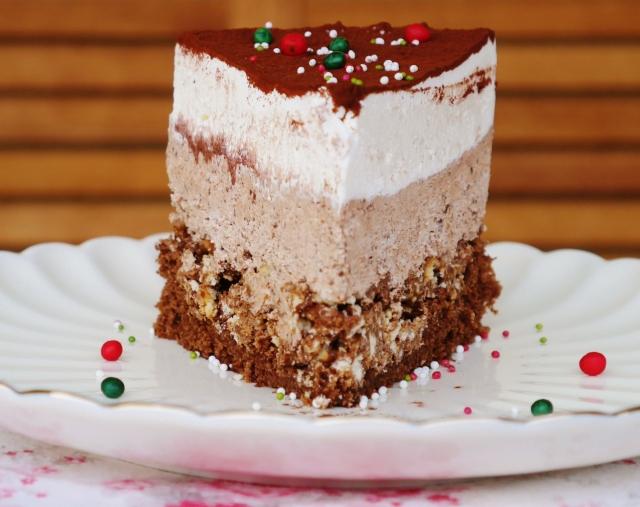 Kaffee-Knusper-Torte