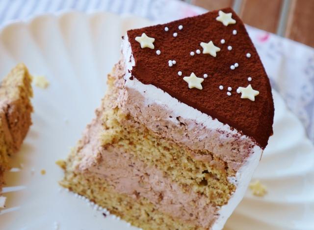Walnuss-Mokka-Torte
