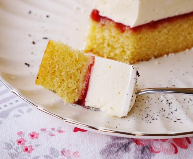 Mandel-Vanille-Torte