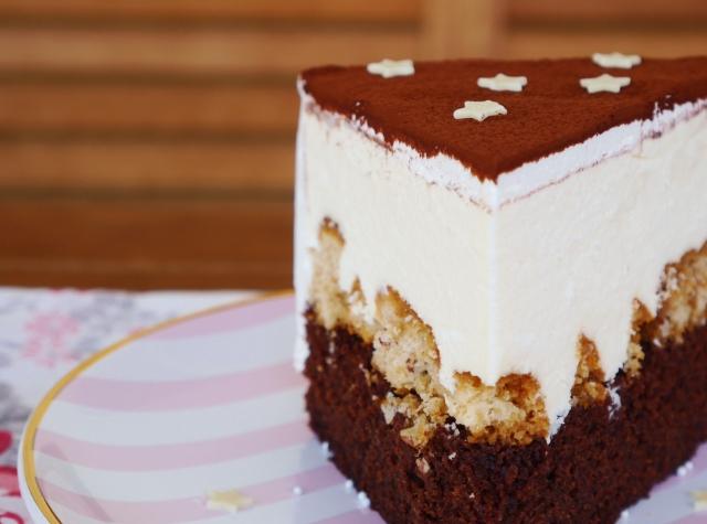 Schokoladen-Tiramisu-Torte