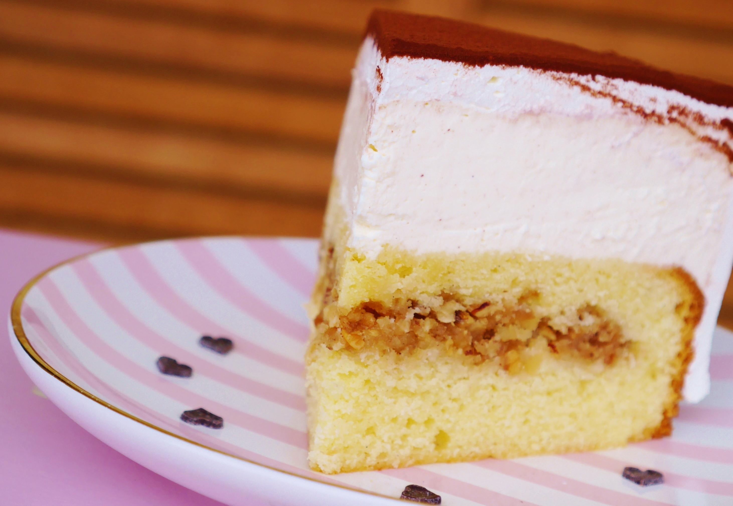 Kuchen mit walnussfullung