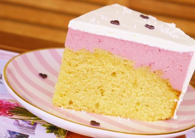 Erdbeer-Marzipan-Torte
