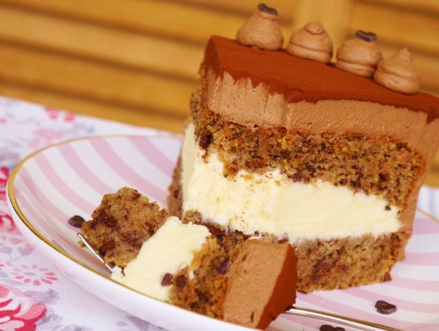 Schokoladen-Karamell-Torte