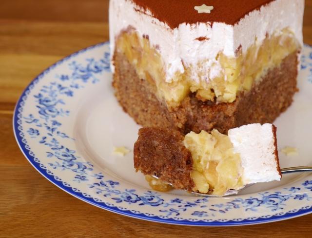 Apfel-Karamell-Torte
