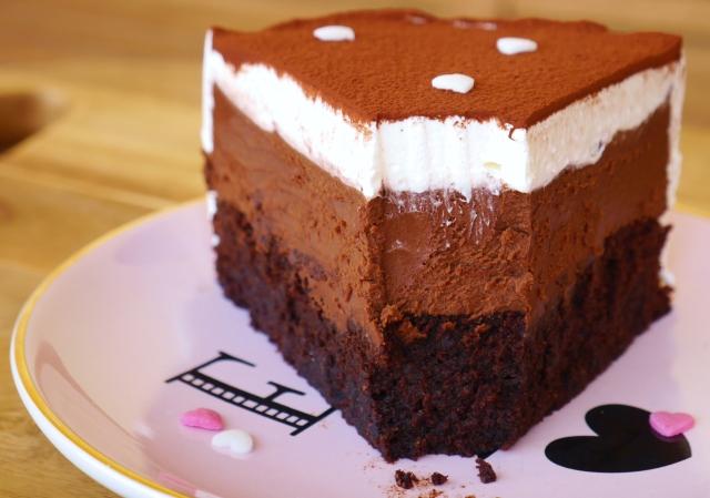 Schoko-Trüffel-Vanille-Torte