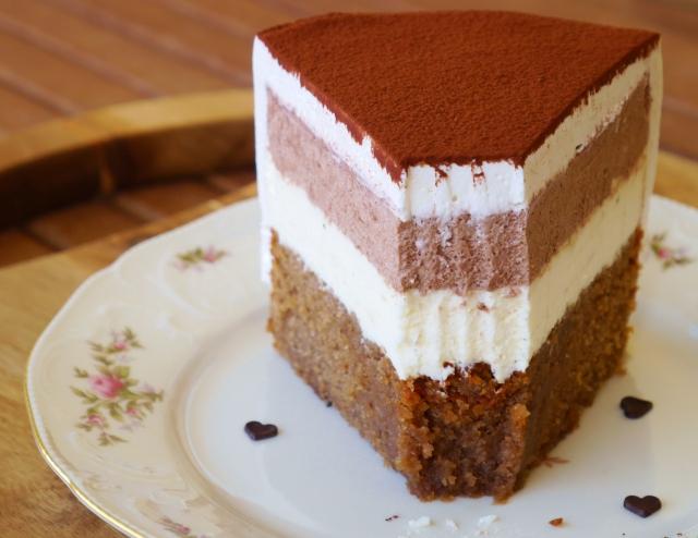 Macchiato-Vanille-Torte